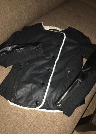 Косуха дублёнка куртка