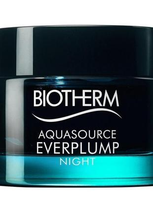 Biotherm aquasource everplump night ночная маска для лица , 15 мл.