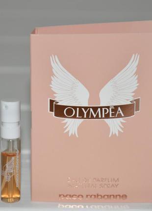 Пробник paco rabanne olympea объем 1, 5мл оригинал