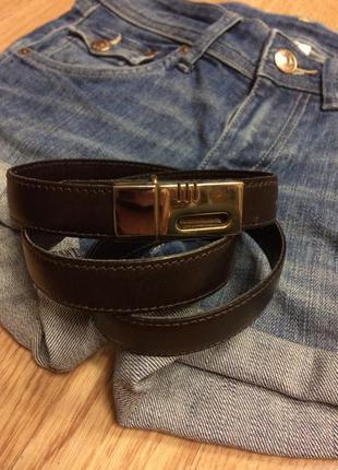 Фирменный кожаный ремень echtes leder,ремешок,пояс+подарок