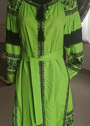 Вишита сукня вишиванка платьє