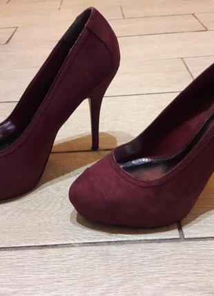 Крутые туфли dorothy perkins р.39 стелька 25 см
