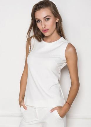 Блуза в офис белая