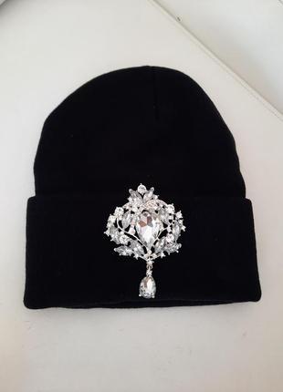 Мега крутая теплая шапочка