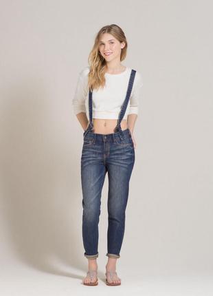 Hollister оригинал джинсы холлистер джинс комбинезон джинсовый комбез