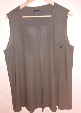 Блузка со складкой спереди