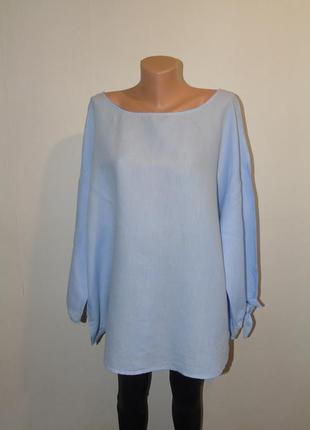Нежно-голубая блузочка 22 размера