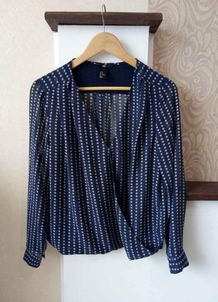 Блуза h&m в звездочку