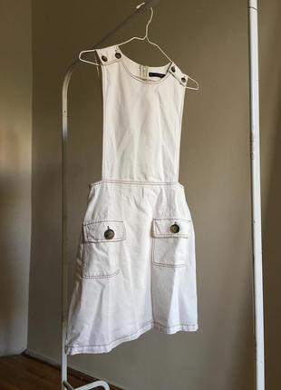 Стильный комбинезон с юбкой