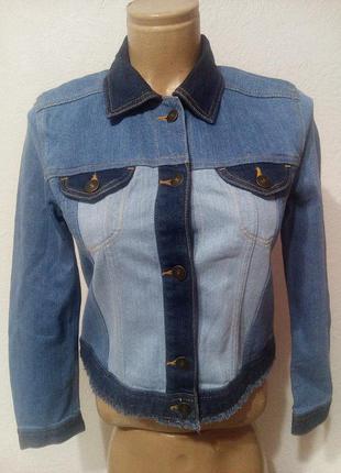 Джинсовый пиджак h&m