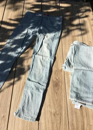 Стильные актуальные штаны брюки джинсы тренд h&m denim zara asos