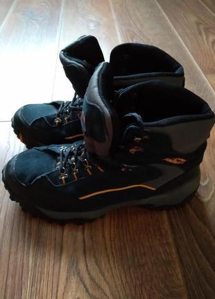 Кожаные ботинки треккинговые ботинки