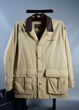 Timberland оригинал! куртка осенняя в стиле милитари вощенная ветровка
