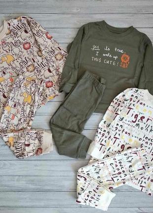 Шикарные пижамки от george из англии. размер 18-24 мес