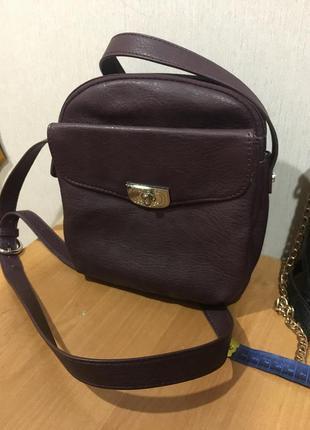 Стильная сумка дорогого бренда качество оригинал марсала