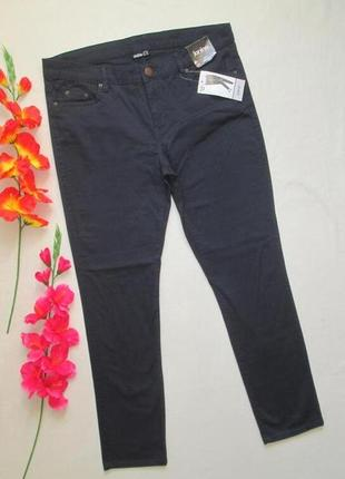 Суперовые стрейчевые  джинсы  брюки  чинос темно-синие janina германия