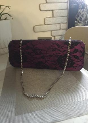 Клатч сумка гипюр в стиле винтаж