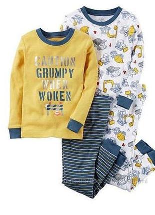Пижама картерс 4т котон