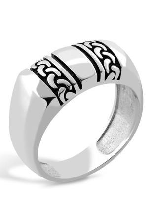 Мужской серебряный перстень , печатка, кольцо, 925, чернение