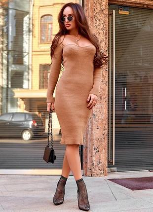 Красивое модное стильное платье аш-411