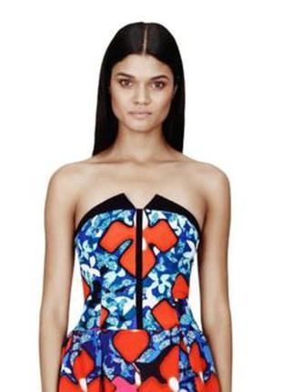 Новое шикарное платье от дизайнеров peter pilotto оригинал на выпускной