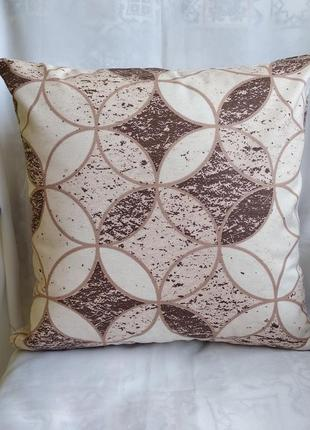 Декоративная наволочка 40*40 см с водоотталкивающей ткани