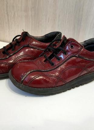 Кожаные туфли ботинки лоферы