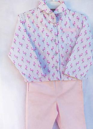 Пижама хлопковая детская, пижама фланелевая детская