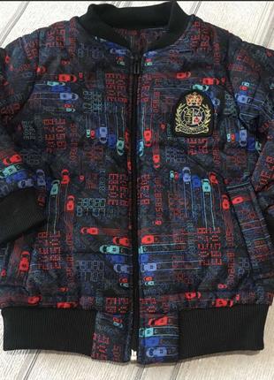 Курточка для мальчика деми