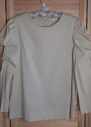 Фирменная стильная  рубашка от cos (р.l/xl)