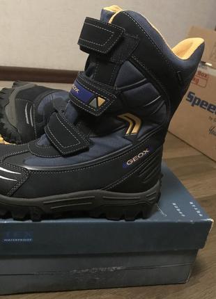 Geox waterproofs сапоги ботинки