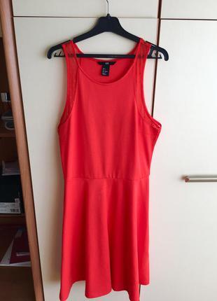 Красивенное яркое летнее платье от h&m