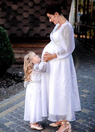Family look( платье для беременной)
