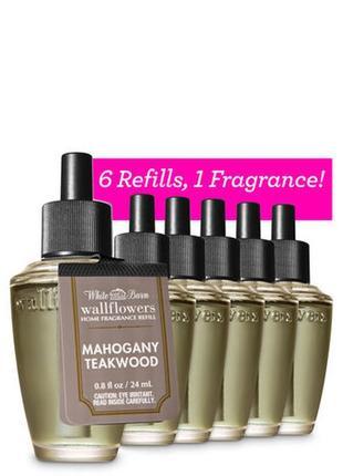 Фирменный аромат для дома mahogany teakwood от bath&body works,usa