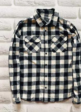 Primark стильная  байковая рубашка на мальчика   10-11 лет