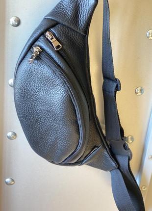 Бананка , барыжка , барсетка сумка на пояс натуральная кожа