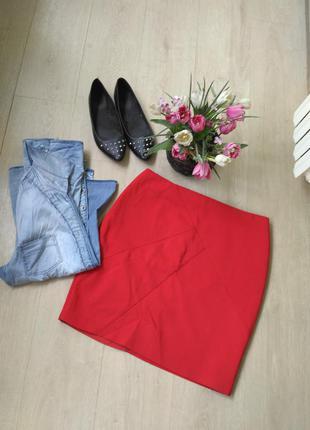 Новая стильнач юбка н&м, большой размер