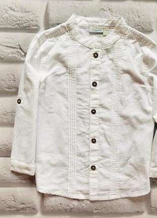 Matalan стильная рубашка на мальчика 3-4 года