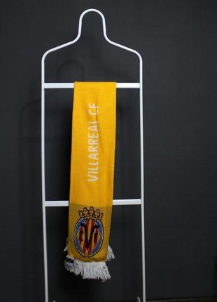 Футбольный шарф вильярреал    villarreal и селтик   celtic