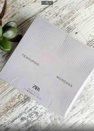 Духи zara mundaka и teahupoo 2 шт набор