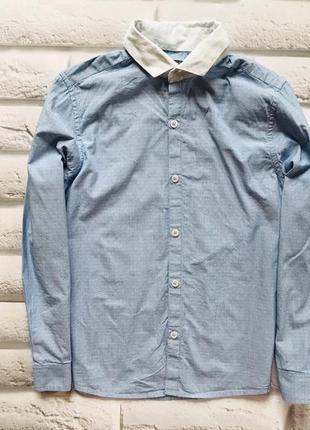 Next стильная рубашка на мальчика 10 лет