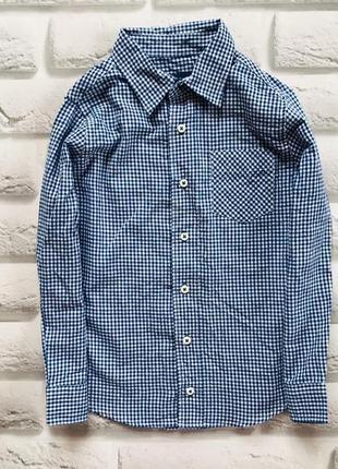 Тсм стильная рубашка на мальчика 5-6 лет