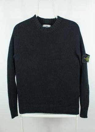 Оригинальный свитер stone island slim fit wool sweater