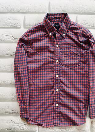 Gap стильная рубашка на мальчика   8 лет