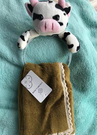 Кухонні  полотенця із мікрофібри корівка