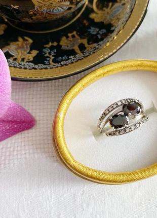 Перстень гематит