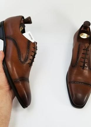 Geox respira serbia мужские туфли туфлі