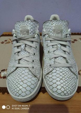 Кожаные кроссовки ,мокасины, кеды adidas stan smith