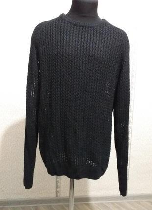 Джемпер редкого плетения. (3297)