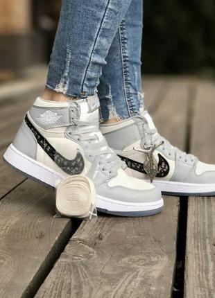 Кросівки nike air jordan retro dior кроссовки